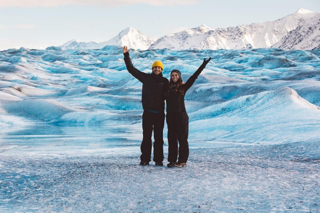 Alaska Helicopter Tour Adventures Anchorage Glacier Landing